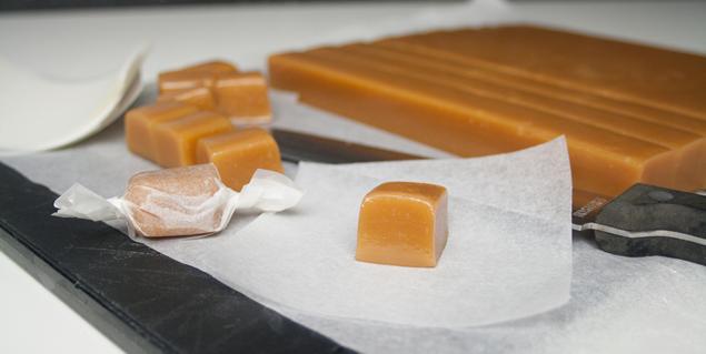zachte karamelblokken