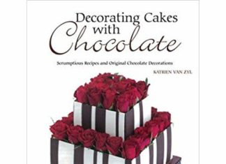 decorating cakes with chocolate