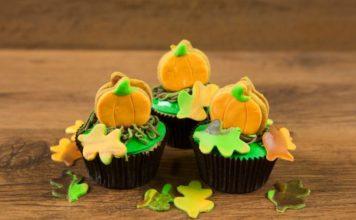 Pompoen cupcakes