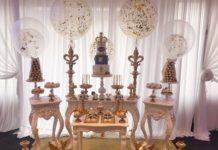 royal sweet table