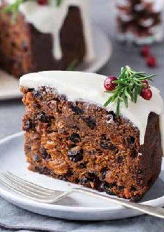 Fruitige kerstcake