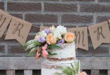 Bloemen op je taart