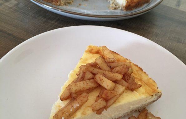 Cheesecake uit Airfryer